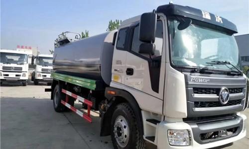 程力威牌CLW5180GPS6ZC型12吨绿化喷洒车