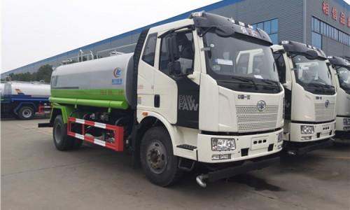 国六解放绿化洒水车WLW5160GPSCA