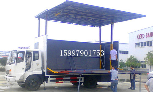 东风嘉运40-50平米舞台车