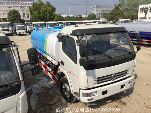 国五东风多利卡9吨洒水车