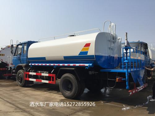 东风老款车头145国五12吨洒水车