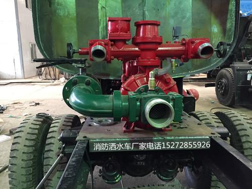 出口5吨多利卡消防洒水车