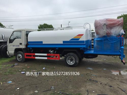 多功能福田时代小卡之星3国三5吨抑尘车