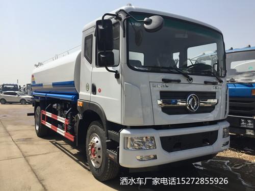 东风D9新款车头15吨洒水车