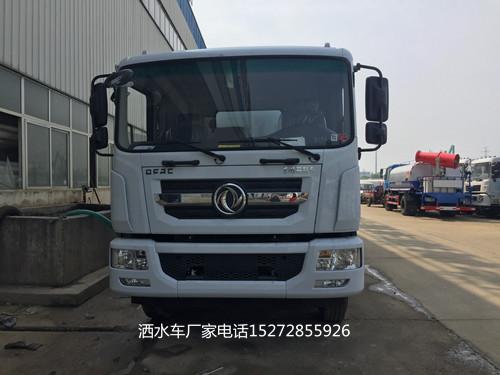 东风D9驾驶室国五15方抑尘车