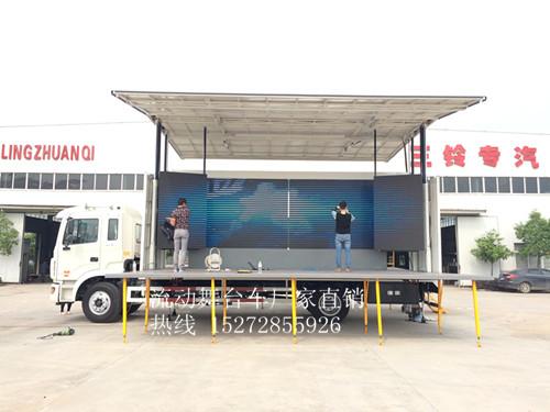 东风单展50平方舞台车
