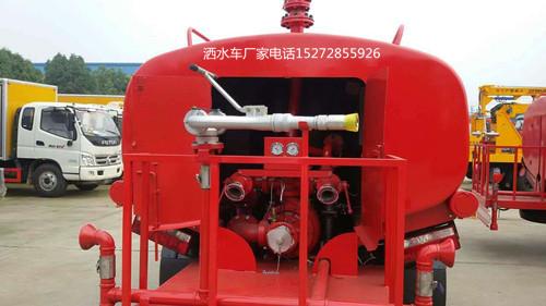 东风福瑞卡60米射程消防高炮消防水车