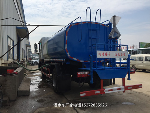 东风多利卡D9玉柴160马力洒水车
