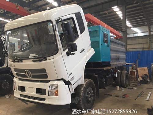 东风天锦100米抑尘车厂家价格