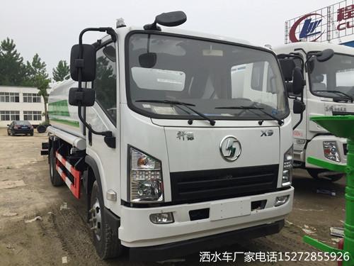 轩德X9国五绿化环卫多功能洒水车
