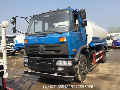 国五东风145老款12吨洒水车价格