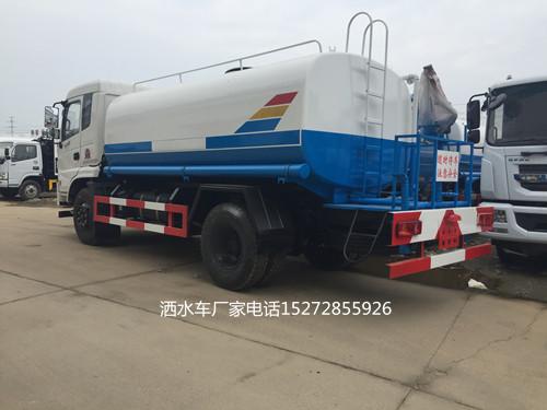东风御虎12吨洒水车厂家价格