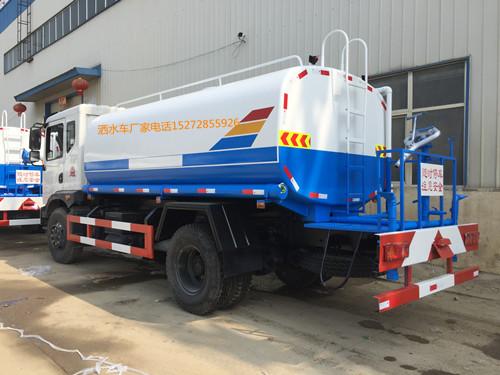 12方东风T3玉柴160马力洒水车现车价格(载质量10吨)