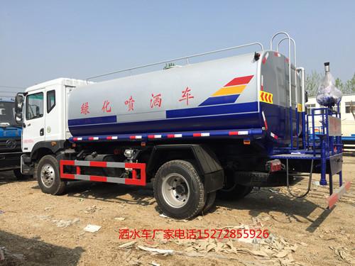 柳汽14吨新款玉柴180马力四缸机洒水车现车价格