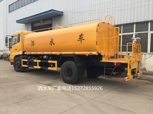 国六东风天锦15吨消防洒水车售后维修有保障