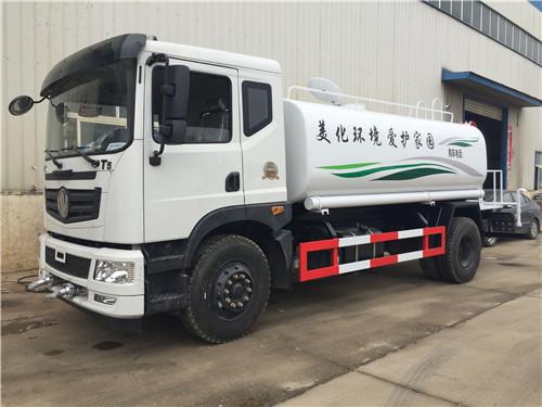 国六东风15吨T5洒水车