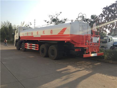 东风天龙SZD5310GSSD5前四后八25吨洒水车